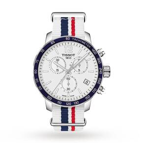 Mens Tissot Quickster Chronograph Watch T0954171703709