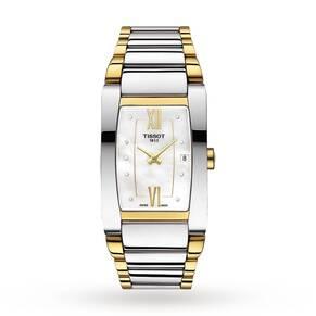 Ladies Tissot Generosi-T Diamond Watch T1053092211600
