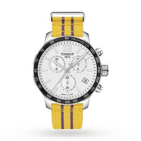 Mens Tissot Quickster NBA Los Angeles Lakers Special Edit ...