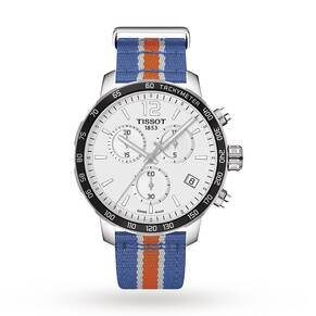 Mens Tissot Quickster NBA New York Knicks Special Edition ...