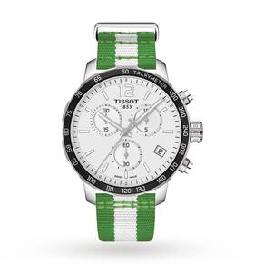 Mens Tissot Quickster NBA Boston Celtics Special Edition ...