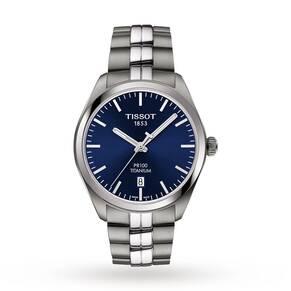 Mens Tissot PR100 Titanium Watch T1014104404100