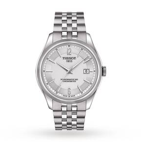 Mens Tissot Ballade COSC Powermatic 80 Silicon Balance Sp ...