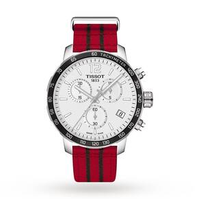 Mens Tissot Quickster NBA Chicago Bulls Special Edition C ...