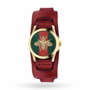 Ladies Gucci G-Timeless Bee Watch YA126546
