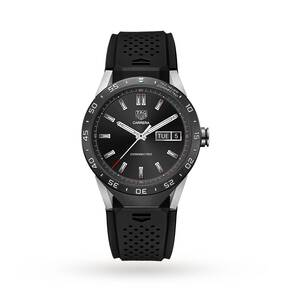 TAG Heuer Connected Black Strap