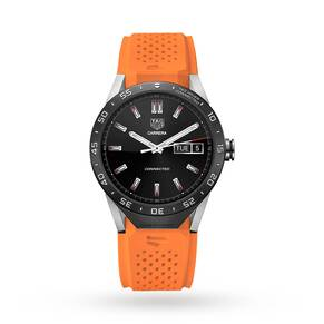TAG Heuer Connect Orange Strap