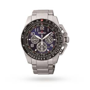 Seiko Men's Prospex Chronograph Solar Powered Watch SSC275P9