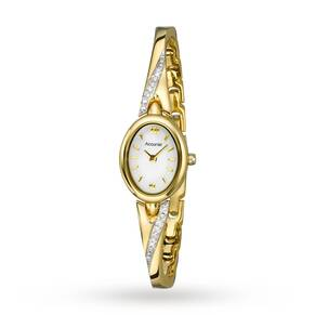 Accurist Ladies Gold Plated Watch