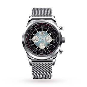 Breitling Transocean Chronograph Unitime Gents Watch