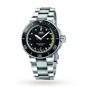 Oris Men's Aquis Depth Gauge Set Automatic Watch
