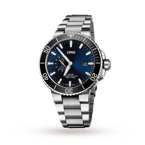 Oris Watch Aquis Date Small Second 74377334135