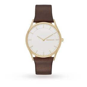 Skagen SKW6225 Men's Leather Watch
