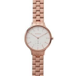 Skagen Ladies Rose Gold Bracelet Watch SKW2417