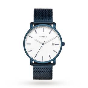 Skagen Hagen Steel-Mesh Watch