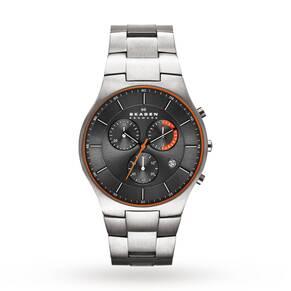 Skagen Men's Balder Titanium Chronograph Watch