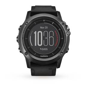Garmin Unisex Fenix 3 Sapphire HR Alarm Chronograph Watch