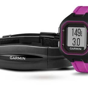 Garmin Unisex Forerunner 25 Bluetooth Smart HRM Bundle Alarm Chronograph Watch