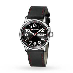 Mens Wenger Attitude Day-Date Watch