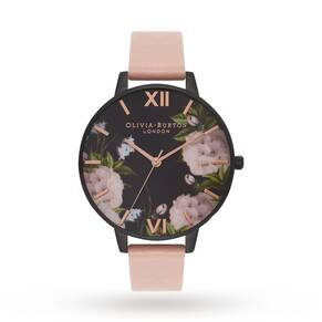 Olivia Burton After Dark Dusty Pink & Rose Gold