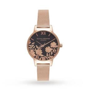 Olivia Burton Ladies' Lace Detail Watch