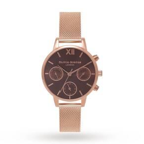 Olivia Burton Ladies' Chrono Detail Midi Chronograph Watch