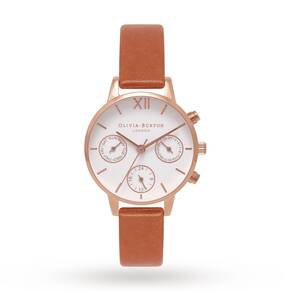 Olivia Burton Ladies' Chrono Detail Midi Watch