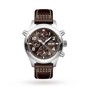 """IWC Pilot's Watch Double Chronograph Edition """"Antoine de Saint Exupéry"""""""