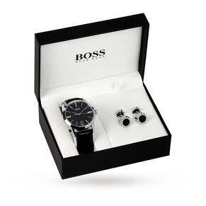 Hugo Boss Gent's Watch And Cufflinks Set 1570046