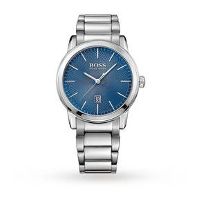 Hugo Boss Mens Classic Blue Dial Watch