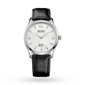 Men's Hugo Boss Commander Black Strap Watch