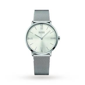 Men's Hugo Boss Jackson Steel MESh Strap Watch