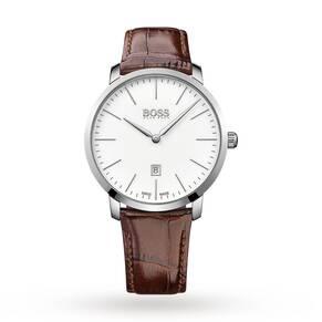 Hugo Boss Men's Swiss Made Slim Watch