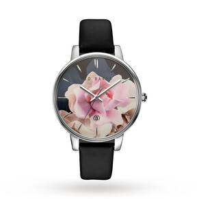 Ted Baker Ladies' Rose Pattern Dial Watch