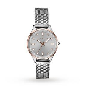 Ted Baker Women's Zoe Bracelet Strap Watch, Silver