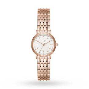 DKNY Ladies Rose Gold Steel Bracelet Watch NY2511