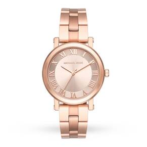 Michael Kors Norie Rose Gold-Tone Three-Hand Watch