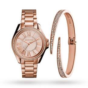 Michael Kors Kacie Ladies Watch Jewellery Set