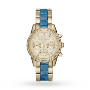 Ladies Michael Kors Ritz Chronograph Watch MK6328