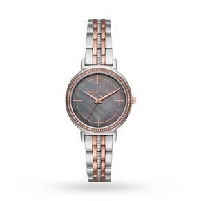 Michael Kors Cinthia Two-Tone Three-Hand Watch