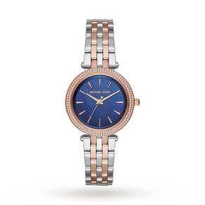 Michael Kors Mini Darci Two-Tone Three-Hand Watch