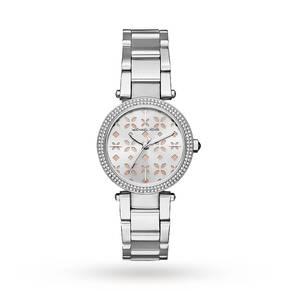 Michael Kors Mini Parker Stainless-Steel Three-Hand Watch