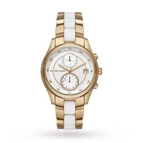 Michael Kors Ladies Briar Chronograph Watch