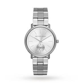 Michael Kors Jaryn Silver Stainless Steel Ladies Watch
