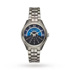 Michael Kors Stainless-Steel Three-Hand Watch