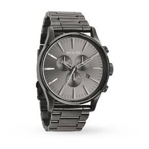Mens Nixon The Sentry Chrono Chronograph Watch