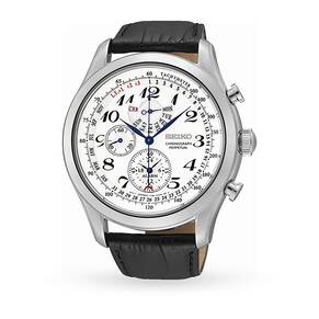 Mens Seiko Alarm Chronograph Watch