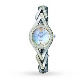 Ladies Seiko Solar Powered Watch