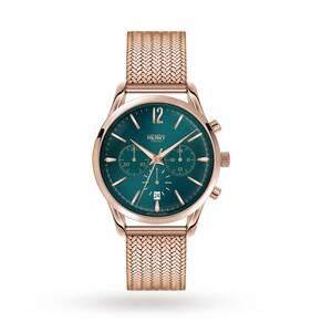 Henry London Unisex Stratford Chronograph Watch HL39-CM-0142