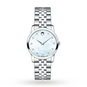 Movado Ladies' Museum Diamond Watch